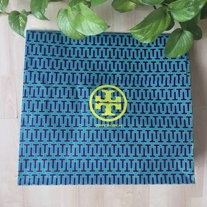 TORY BURCH Paper Shopping Gift Bag Only Empty